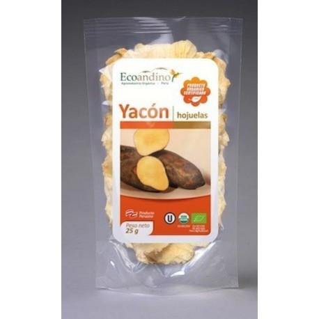 chips de yac n poire de terre biologiques ecoandino 25g el inti la boutique p ruvienne. Black Bedroom Furniture Sets. Home Design Ideas