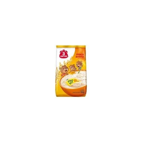 Flocons d'avoine précuite enrichis en Maca 3 Ositos 170g