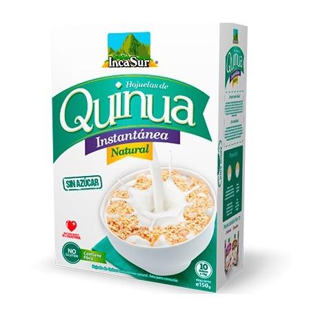 Quinoa instantanée naturelle sans sucre IncaSur / Céréales du Pérou