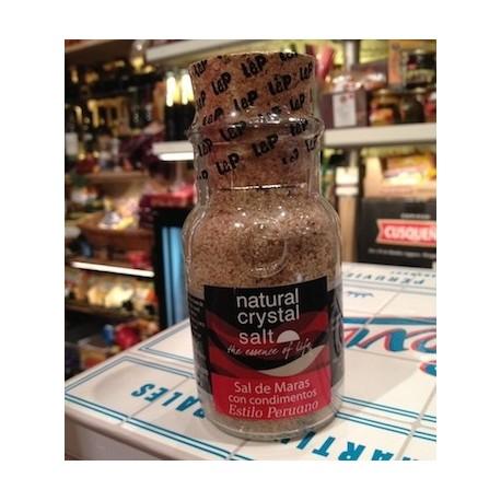 Sel Rose de Maras non raffiné aux épices péruviennes Laurie & Pujalt 130g