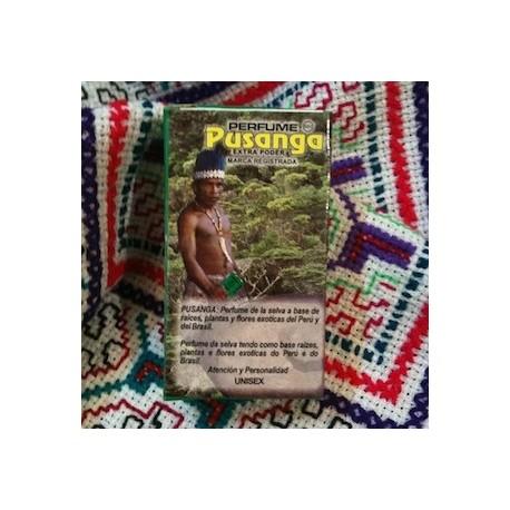 """Parfum ésotérique de l'Amazonie """"Pusanga"""" Perfumería Industrial / Esotérisme du Pérou"""