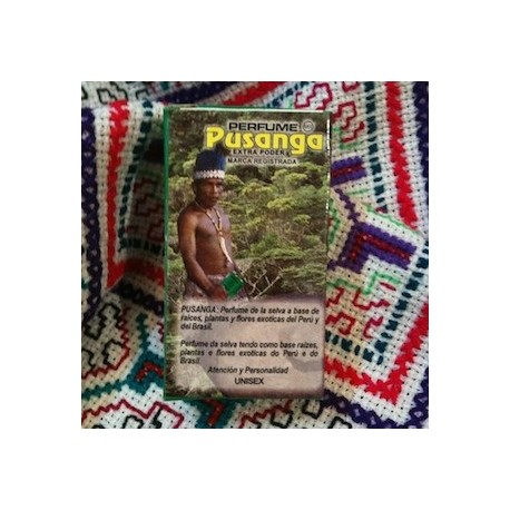 "Parfum ésotérique de l'Amazonie ""Pusanga"" Perfumería Industrial 10ml"