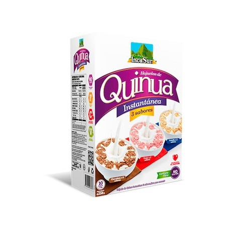 Quinoa instantanée 3 saveurs IncaSur / Céréales du Pérou