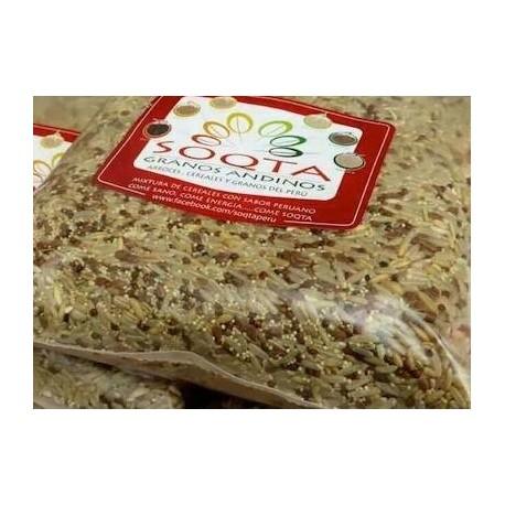 Riz avec riz avec céréales andines Soqta / Céréales du Pérou