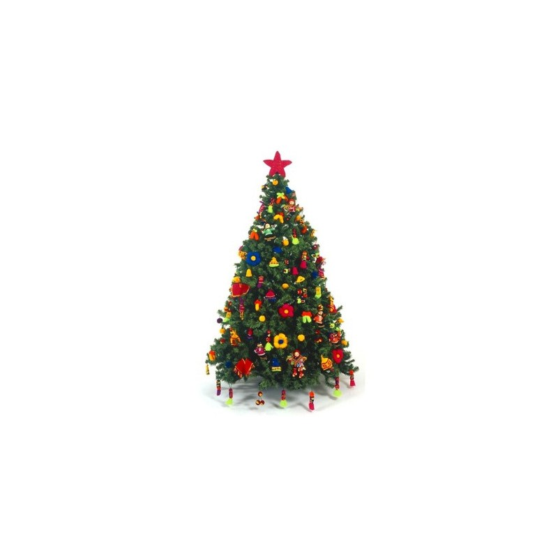 decoraciones de huancavelica para el arbol de navidad wayra per - Arbol De Navidad