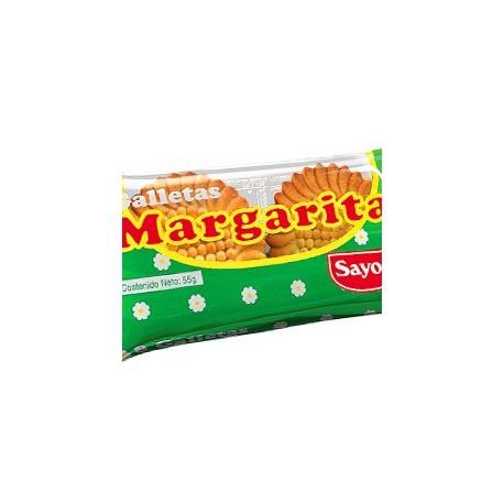Margarita Biscuits à la vanille Sayón 50g