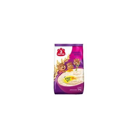 Flocons d'avoine précuite enrichis en Amarante 3 Ositos / Petit déjeuner péruvien / Pérou