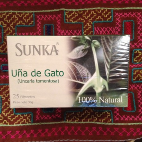 Griffe du Chat Uña de Gato en infusettes Sunka 25x1,2g
