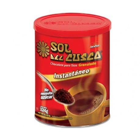 Chocolat chaud à la tasse Nature Instantané Sol del Cusco IncaSur 324g