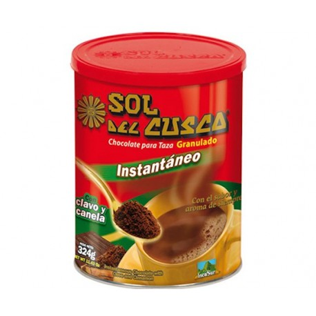Chocolat chaud à la tasse à la Cannelle & au Clou de Girofle Instantané Sol del Cusco IncaSur / Pérou