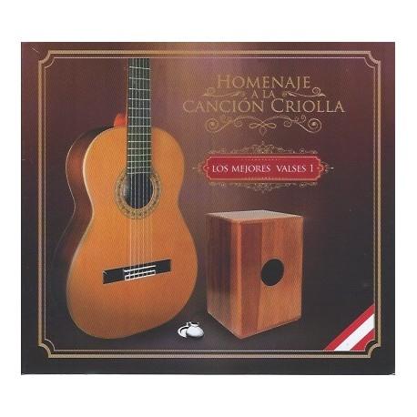 CD Homenaje a la Canción Criolla - Los Mejores Valses 1 / Perú