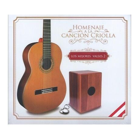 CD Homenaje a la Canción Criolla - Los Mejores Valses 2 / Pérou
