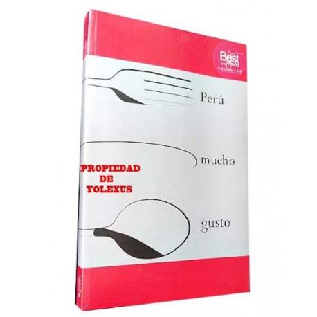 Perú Mucho Gusto - Livre de recettes de Cuisine péruvienne / Pérou