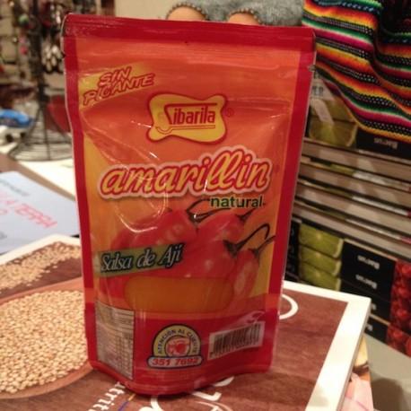 Amarillín Piment jaune liquide SANS PIQUANT Sibarita 120g