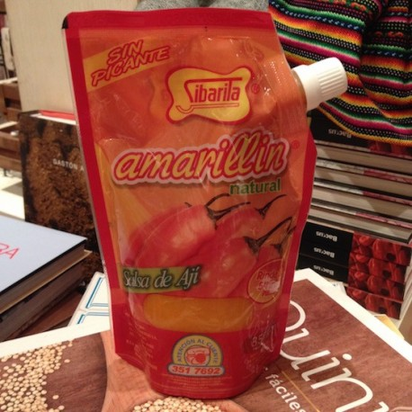 Amarillín Piment jaune liquide SANS PIQUANT Sibarita 350g