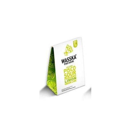 Pisco Sour Original - Ingrédients déshydratés et pré-dosés pour la préparation de 6 verres Wasska / Cocktail national du Pérou