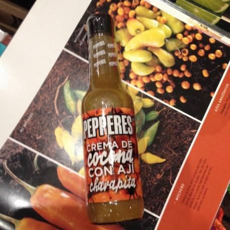 Ají Charapita Jaune avec Cocona Sauce piquante liquide Pepperes 160g