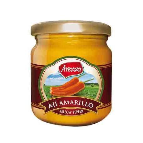 Piment jaune péruvien frais en Purée (Ají Amarillo / Verde / Escabeche) Arezzo / Cuisine péruvienne / Pérou