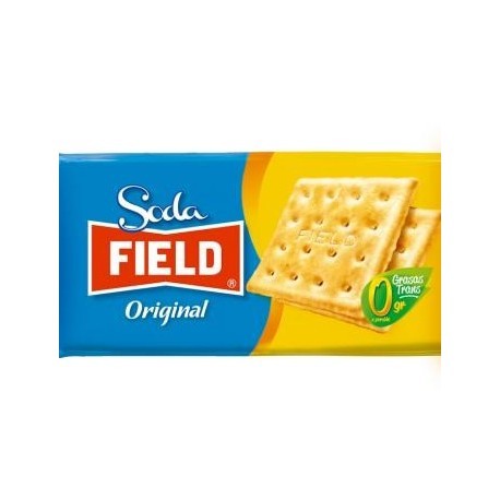 Biscuits Soda apéritifs péruviens natures salés Field 6x34g