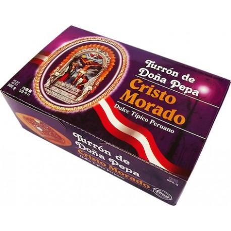 Turrón de Doña Pepa Patisserie liménienne traditionnelle Cristo Morado 1Kg