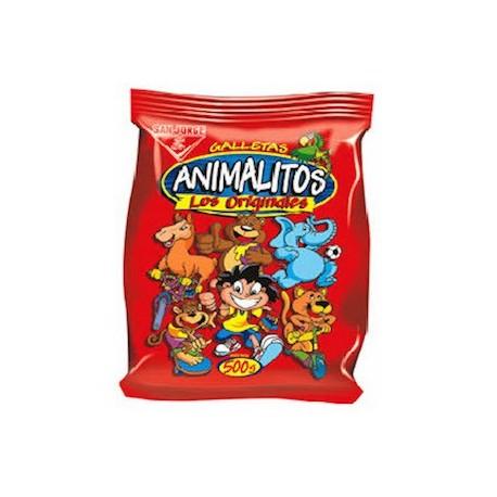 Animalitos Biscuits à la Vanille San Jorge 60g