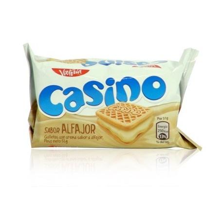 Casino saveur Alfajor - Biscuits péruviens fourrés Victoria / Pérou