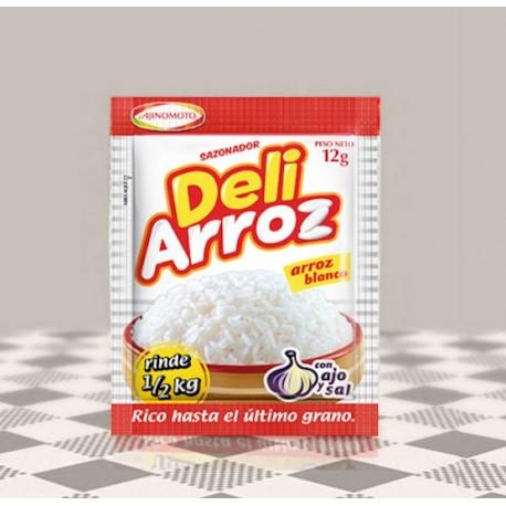 DeliArroz - Assaisonnement pour la cuisson du riz à la péruvienne AjiNoMoto / Pérou
