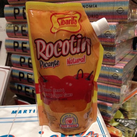 Rocotín - Piment péruvien Rocoto / Locoto liquide PIQUANT Sibarita 350g