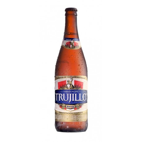 Cerveza Rubia peruana Pilsen Trujillo 5° 620ml