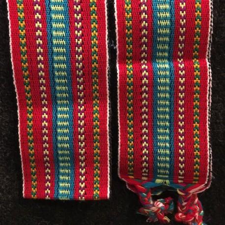 Cinturón Rojo peruano de Ancash - Perú
