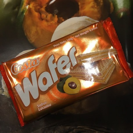 Wafer sabor a Lúcuma Costa / Perú