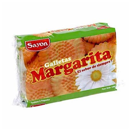 Margarita Biscuits à la vanille Sayón 6x46.5g