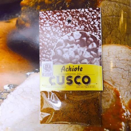Roucou en Graines (Achiote en Granos) Kuski / Epices de la Cuisine péruvienne / Pérou