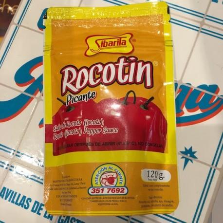 Rocotín - Piment péruvien Rocoto / Locoto liquide PIQUANT Sibarita 120g