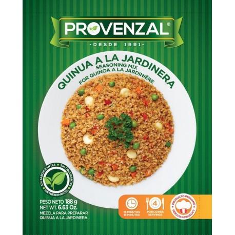Quinua a la Jardinera - Ingredientes de base deshidratados Provenzal 188g