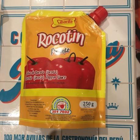 Rocotín - Piment péruvien Rocoto / Locoto liquide PIQUANT Sibarita 250g