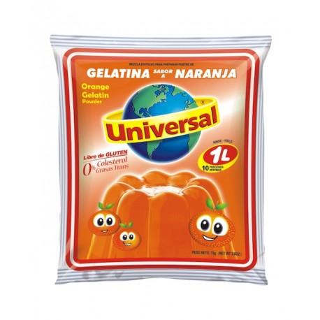Dessert gélifié à l'Orange Universal 250g