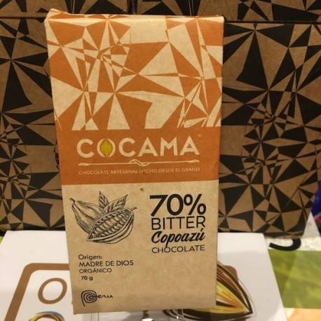 Chocolat Bitter Copoazú 70% Cocama 70g