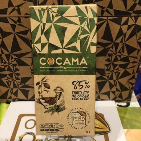 Chocolat Noir Bitter 85% Cocama 70g