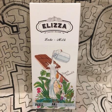 Chocolat au Lait 48% Elizza 50g