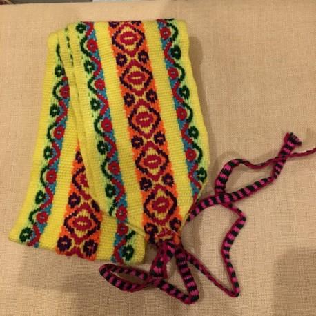 Cinturón Amarillo peruano de Huancavelica - Perú