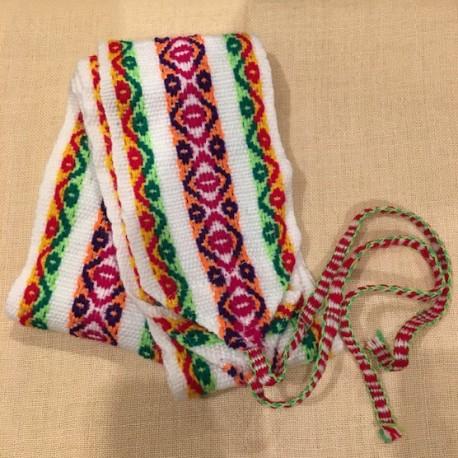 Cinturón Blanco peruano de Huancavelica - Perú 120cm