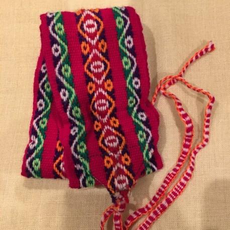 Cinturón Rosado peruano de Huancavelica - Perú 120cm