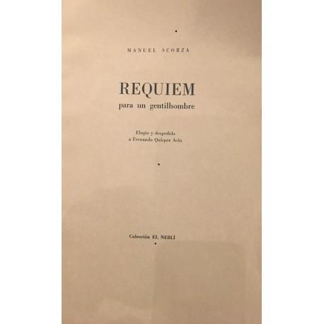 Requiem para un Gentil Hombre - Manuel Scorza
