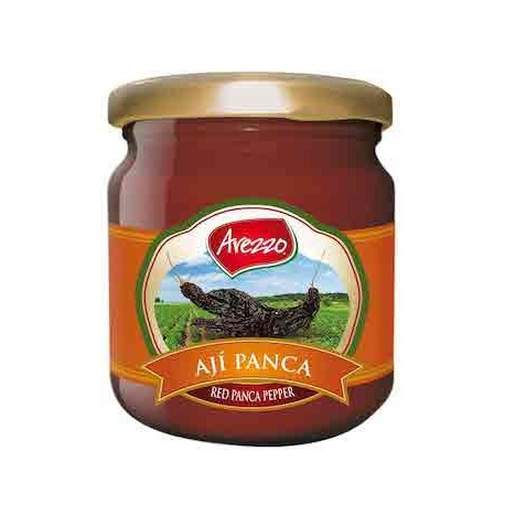Ají Panca Colorado en Pasta Arezzo 195g - Caja de 24