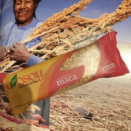 Barre de Céréales Andines aux Graines de Sésame et à la Maca Crosoy 25g