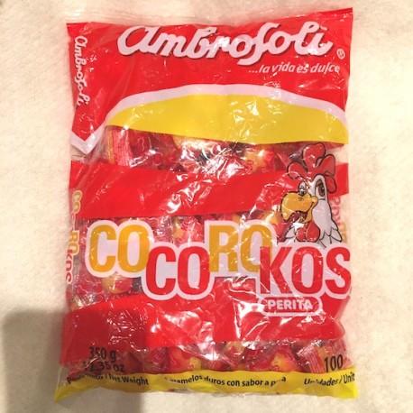 Cocorokos Bonbon au Poire Ambrosoli 10x3,5g