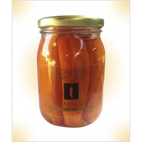 Piment jaune entier en Conserve Cosecha de Oro 390g
