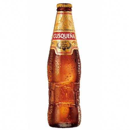Cerveza Rubia Cusqueña 4,8° / Perú