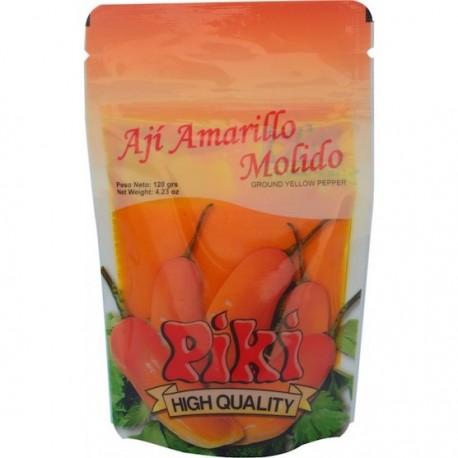 Piment jaune péruvien frais en Purée (Ají Amarillo molido) Piki / Gastronomie du Pérou